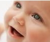 image of a baby smile